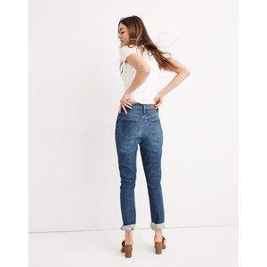 Madewell The High-Rise Slim Boyjean: Eco Edition